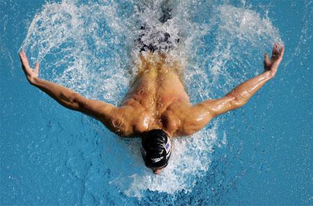 Michael Phelps - pemegang 8 medali emas Olimpiasi Beijing
