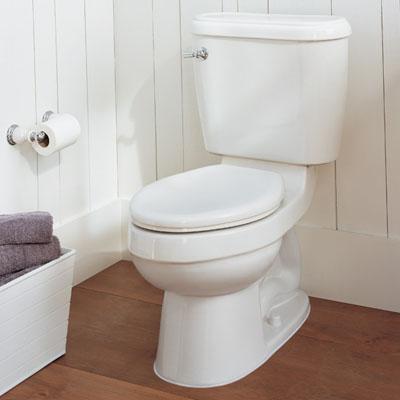 Penggunaan kertas tissue gulung untuk toilet.