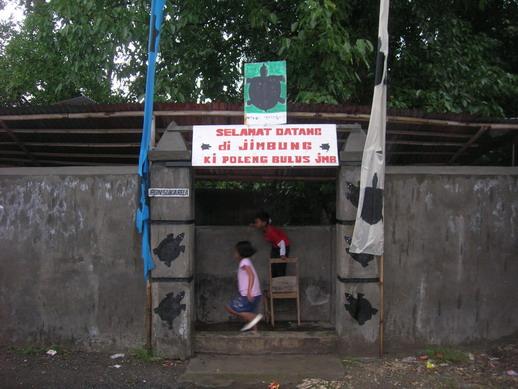 Gerbang masuk Sendang Jimbung.