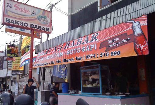 spanduk warung makan