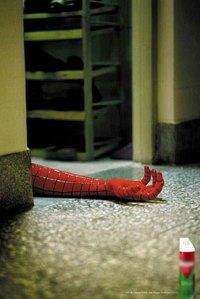 Spiderman pun bisa mati kena toksik dari bahan aktif insektisida.