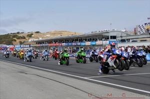 Posisi grid satu saat start lomba balap motor yang selalu diharapkan pembalap.