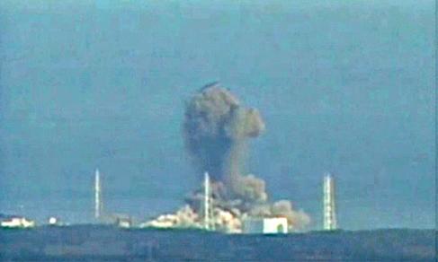 Proses ledakan yang terjadi pada reaktor 3. Gambar 3.