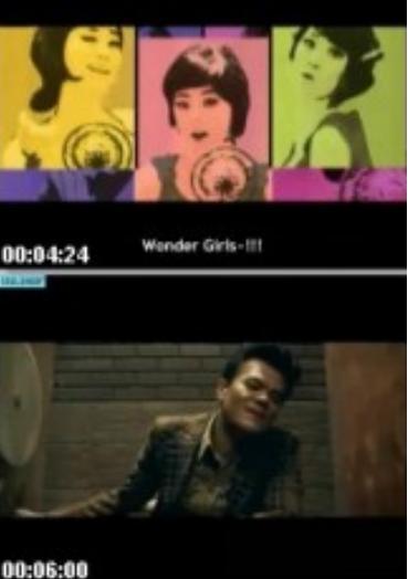 Videoklip unik dari wondergirl.