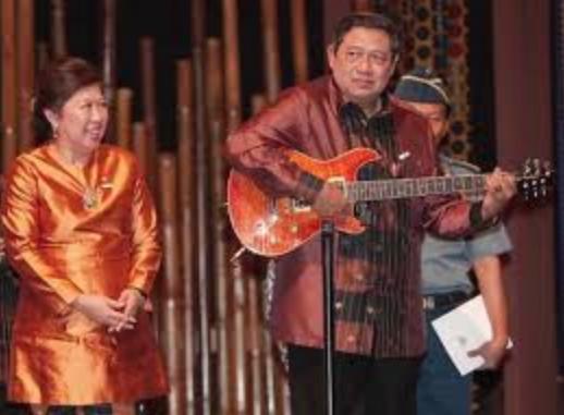 Aksi solo panggung Presiden SBY