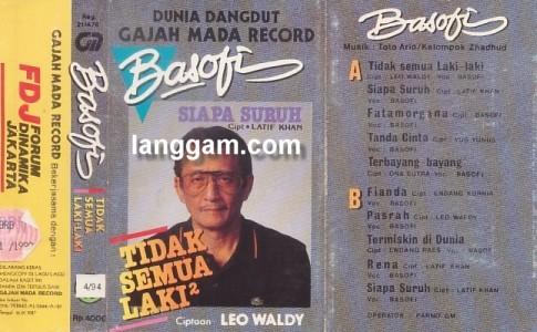 Album rekaman Basofi Sudriman - jenderal dan eks Gubernur DKI