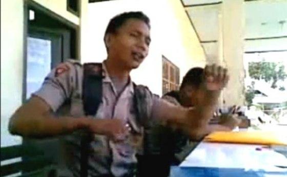Klip dari video lipsync Briptu Norman