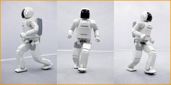 Berbagai gerakan otomatis robot.