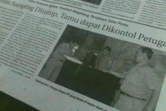 salah ketik di koran