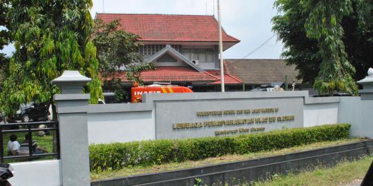 Gedung Lapas Cebongan - lokasi aksi penyerbuan preman tahanan Polda