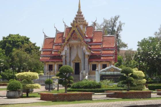 Salah satu kuil di Songkla