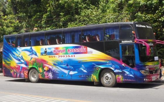 Bis wisata di kawasan.