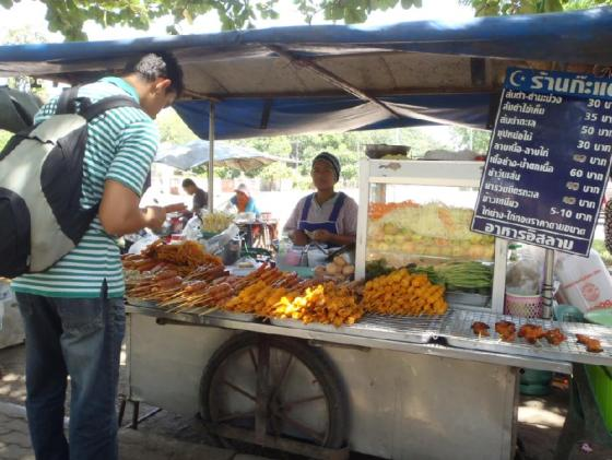 Penjual makanan kecil