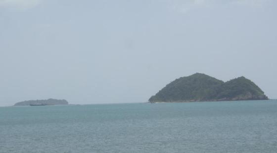 Pulau berbentuk tikus dan kucing.